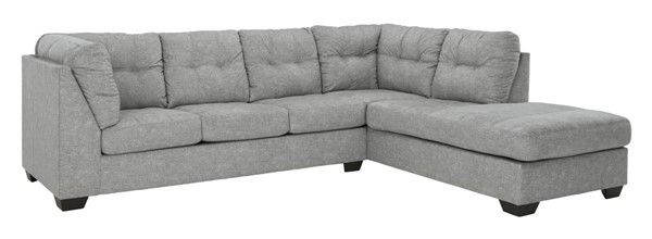 Ashley Furniture Falkirk Fabric 2pc Sectionasl With RAF Chaise 80804-SEC-S-VAR2