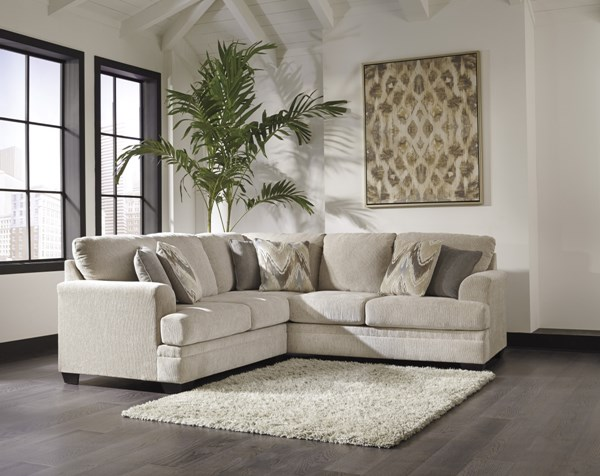 Ameer Contemporary Sand Fabric LAF Loveseat 8180655