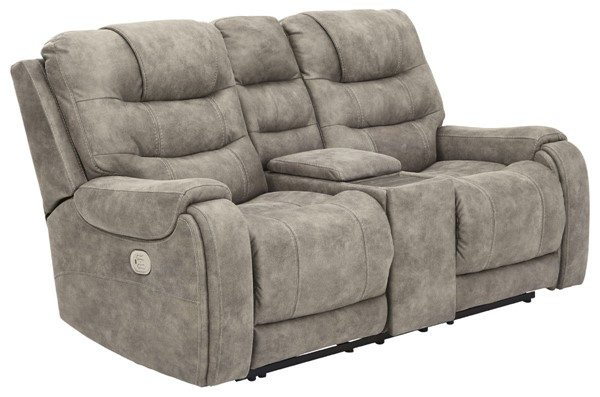 Ashley Furniture Yacolt Power Reclining Loveseats With Headrest 8200-LS-VAR