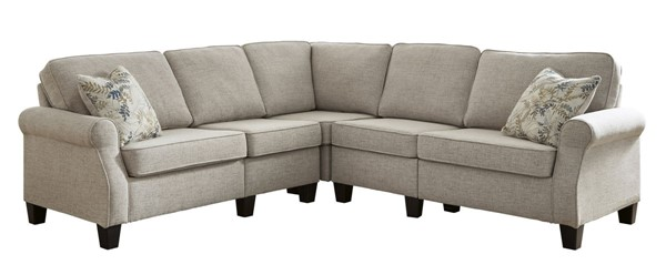Ashley Furniture Alessio Beige 4pc Sectional 82404-SEC1