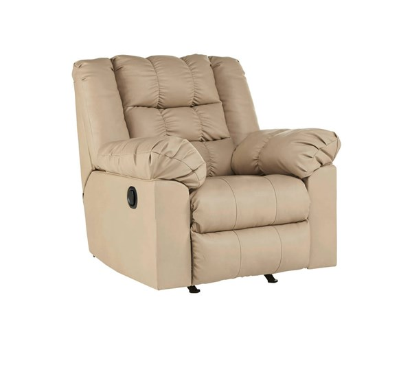 Brolayne DuraBlend Contemporary Beige Rocker Recliner 8320125