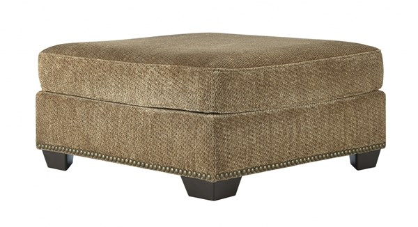 Courtmeyers Traditional Classics Amber Oversized Accent Ottoman 8580208