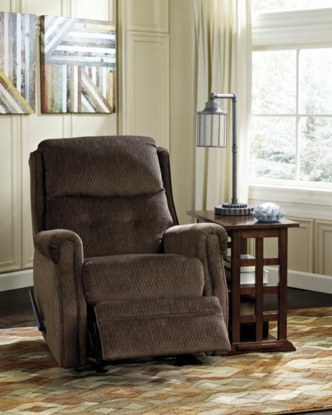 Meadowbark Traditional Classics Chocolate Glider Recliner 8640527