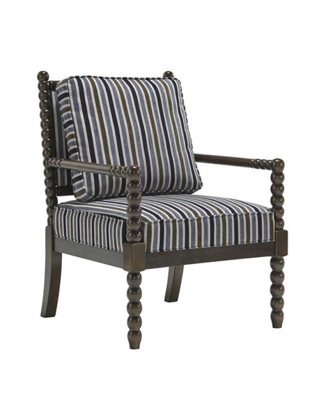 Navasota Vintage Casual Regal Fabric Accent Chair 8700260