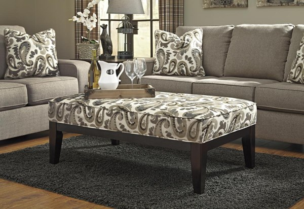 Arietta Vintage Casual Prairie Fabric Living Room Set 8730-LR