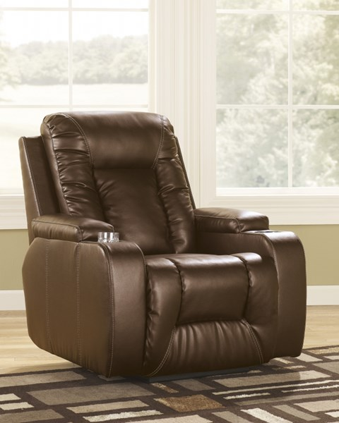 Matinee DuraBlend Contemporary Antique Faux Leather Zero Wall Recliner 8749829