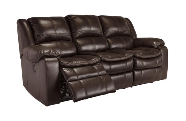 Long Knight Contemporary Brown Reclining Power Sofa 8890587