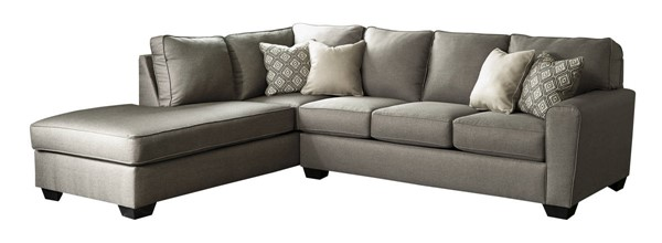 Ashley Furniture Calicho Cashmere LAF Chaise Sectionals CALICHO-VAR17