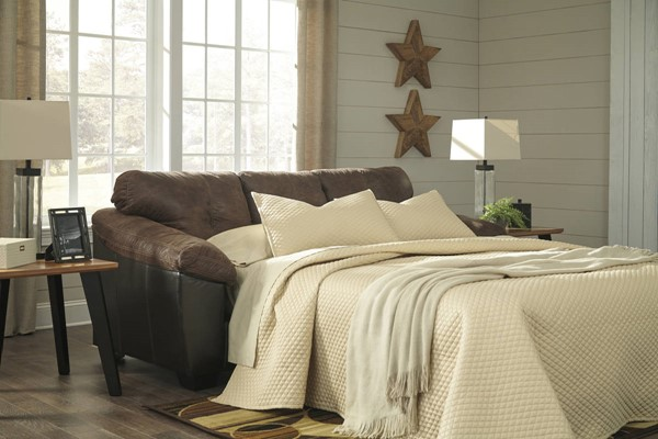 Ashley Furniture Gregale Coffee Queen Sofa Sleeper 9160339