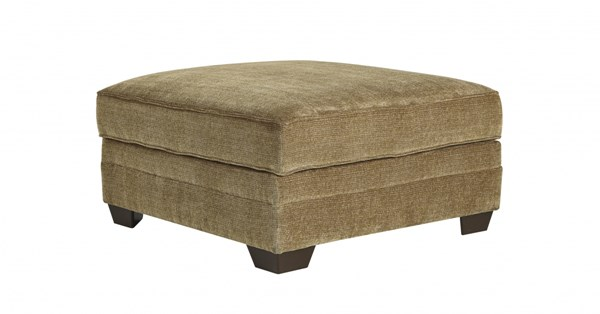Lonsdale Contemporary Barley Fabric Ottoman With Storage 9211111