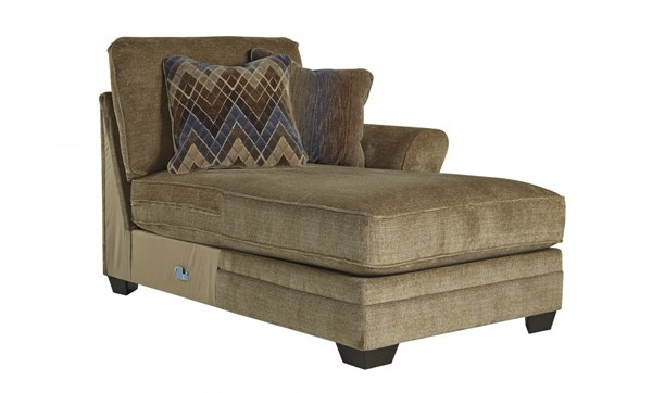 Lonsdale Contemporary Barley Fabric RAF Corner Chaise 9211117