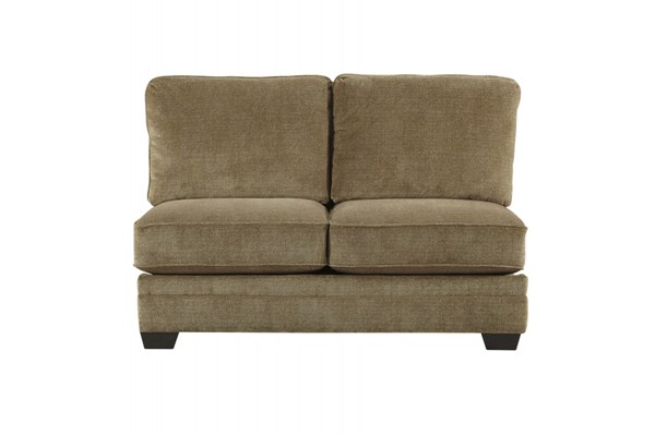 Lonsdale Contemporary Barley Fabric Armless Loveseat 9211134