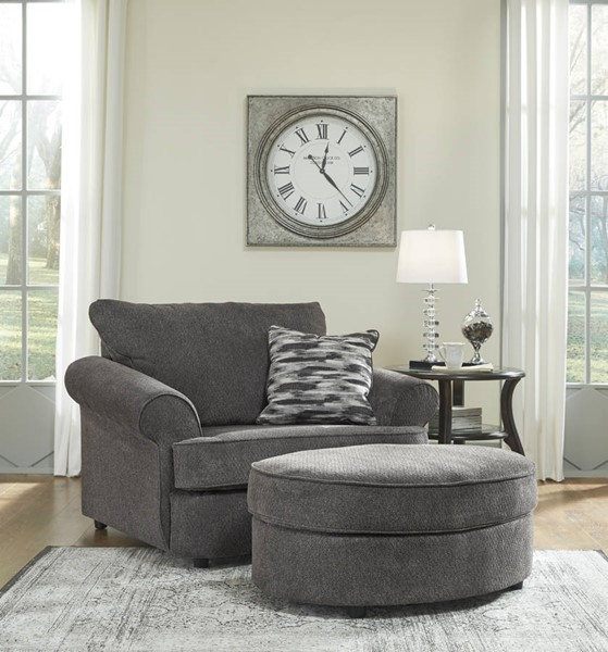 End Year Sale Ashley Furniture: Ashley Furniture Allouette Chair And Ottomans Set