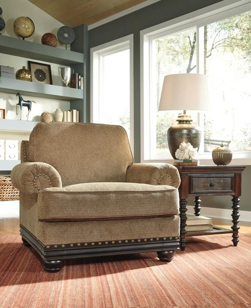 Elnora Traditional Classics Umber Wood Chair 9370220