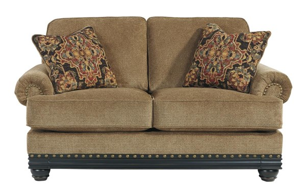 Elnora Traditional Classics Umber Loveseat 9370235