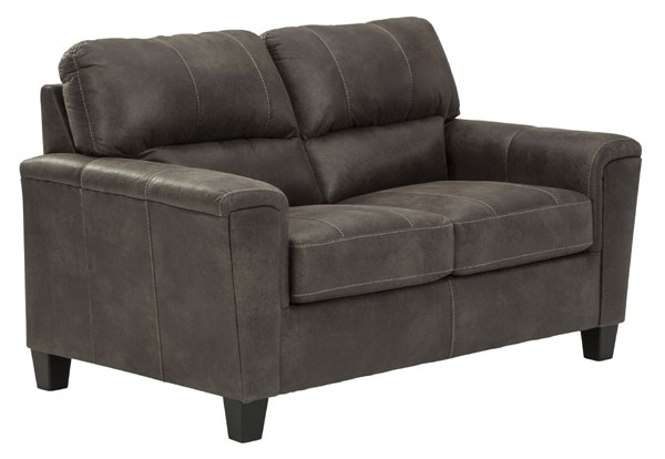 Ashley Furniture Navi Smoke Loveseat 9400235