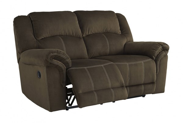 Quinnlyn Contemporary Coffee Reclining Loveseat 9570186