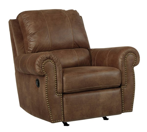 Burnsville Traditional Classics Espresso Rocker Recliner 9720625