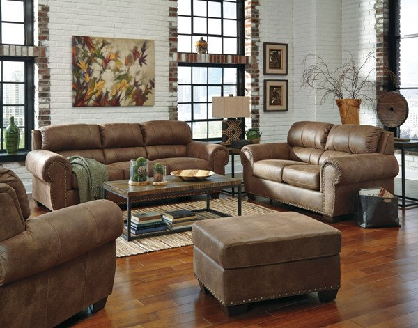 Burnsville Traditional Classics Espresso Fabric 3pc Living Room Set 97206-LR-CH-S1