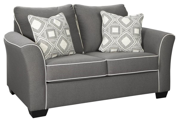 Ashley Furniture Domani Charcoal Loveseat 9850435