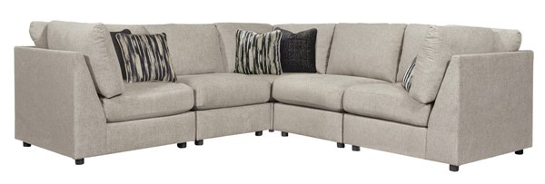 Ashley Furniture Kellway Bisque Sectional 98707-SEC5