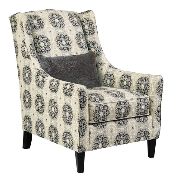Azlyn Vintage Casual Graphite Accent Chair 9940221