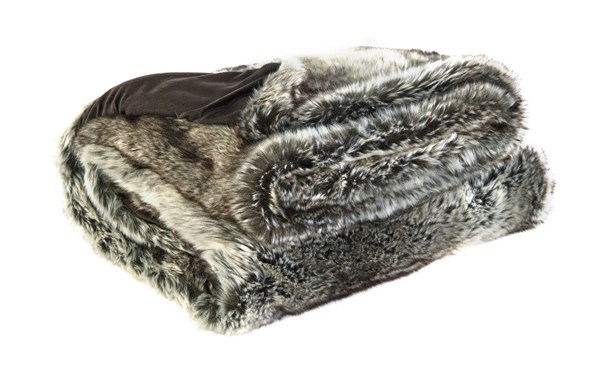 VanLander Traditional Charcoal Fabric Throws A1000045-THRW-VAR