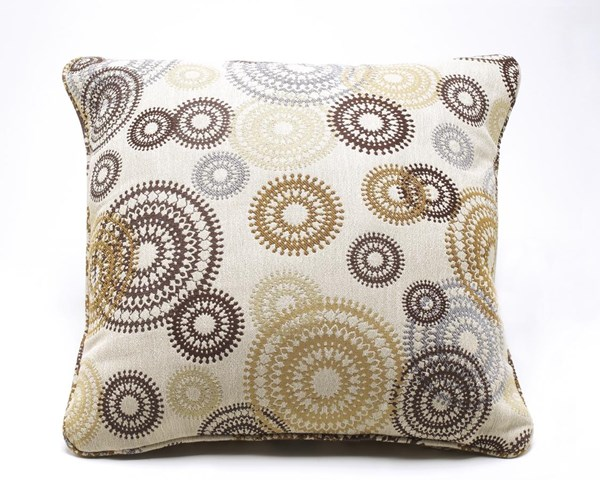 Serendipity Contemporary Twinkle Fabric Pillow A1000157P
