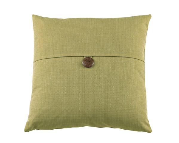 6 Jolissa Transitional Spring Green Removable Cover Pillows A1000179