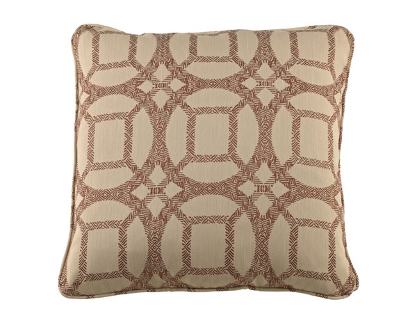 6 Caslynne Transitional Cayenne Geometric Pillows A1000200