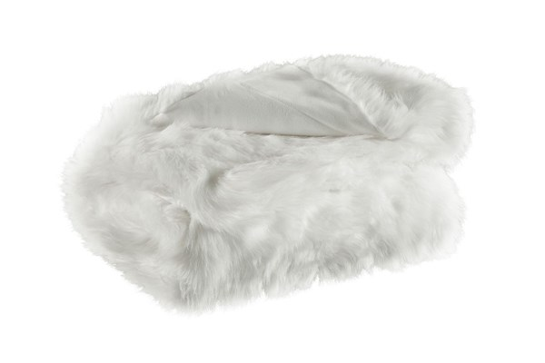 Himena Traditional White Fabric Throws A10002-THR-VAR