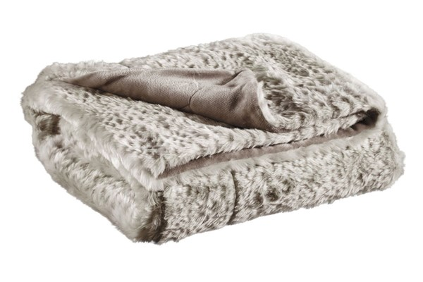 Rolle Traditional Tan Acrylic Rectangle Throw A1000222T