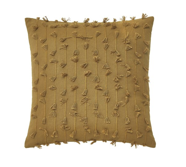 Eleri Traditional Gold Fabric Poly Pillow A1000261P
