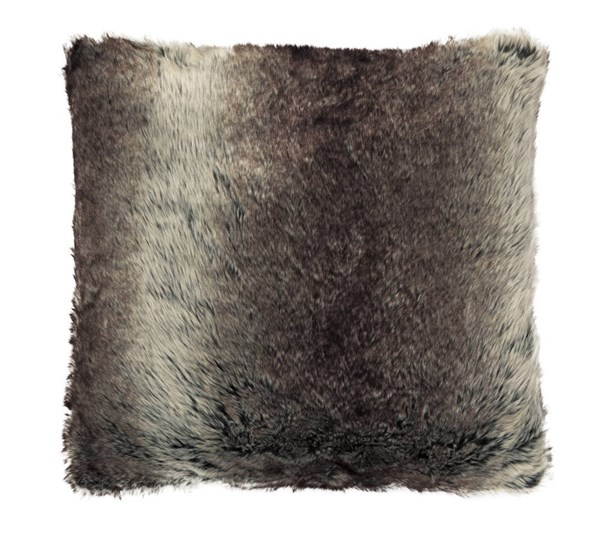 VanLander Contemporary Charcoal Poly Fabric Pillow A1000263P