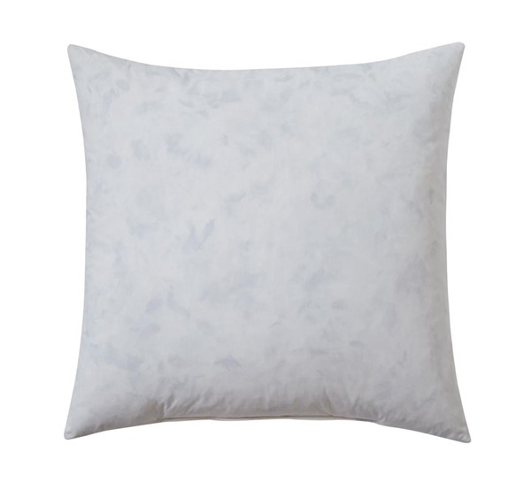 Feather-fill Transitional White Large Pillow A1000267-VAR