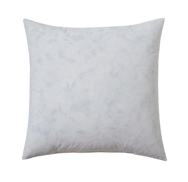4 Feather-fill Transitional White Medium Pillow Insert A1000268