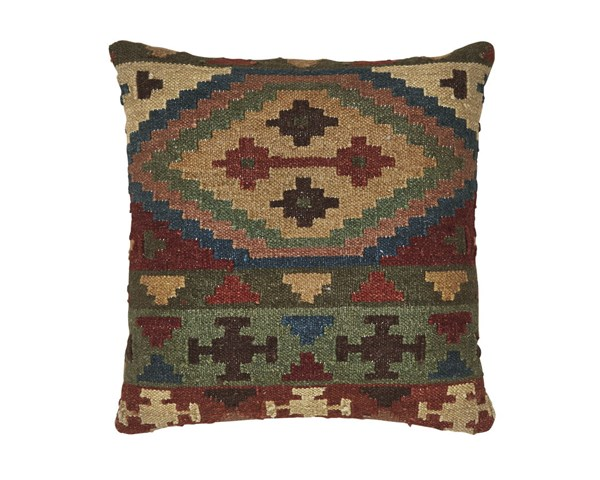 Ishaan Casual Poly Fabric Pillow W/Zipper Closure A1000278P