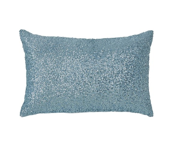 Arabelle Youth Aqua Fabric Poly Pillow A1000284P