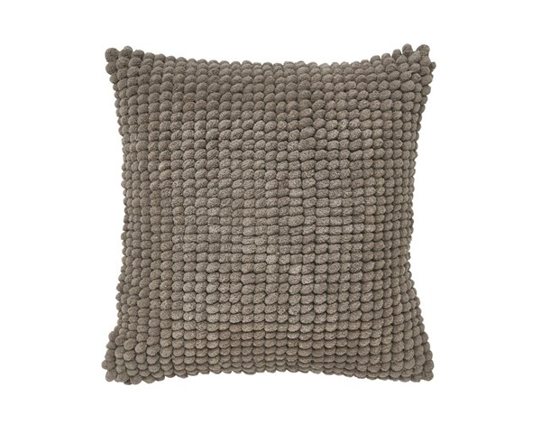 Lukas Contemporary Taupe Fabric Poly Pillow A1000299P