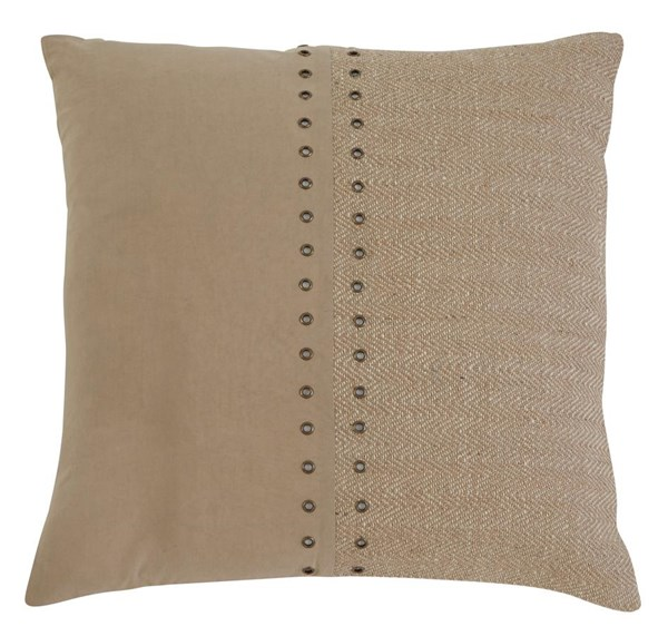 Textured Vintage Casual Natural Navy Gray Pillow A10003-PILO-VAR