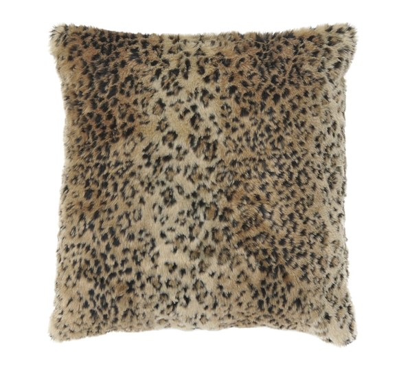 Rolle Contemporary Brown Poly Arcylic Pillow A1000322P