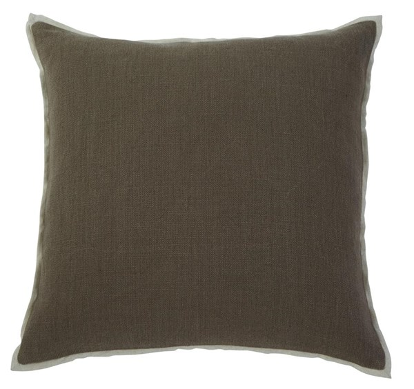 4 Solid Vintage Casual Gray Square Pillow Covers A1000341