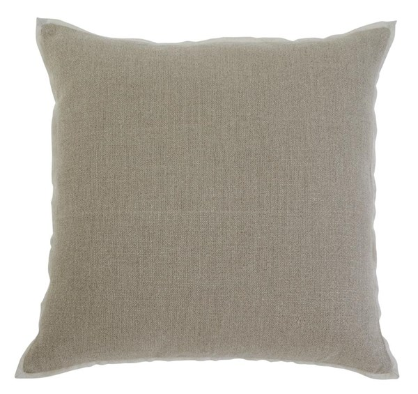 Solid Vintage Casual Khaki Pillow Covers A1000342-VAR