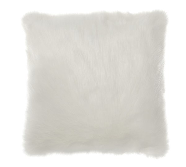 Himena Contemporary White Fabric Pillows A100035-PLW-VAR