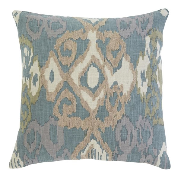 Patterned Vintage Casual Blue Pillow Covers A1000377-VAR