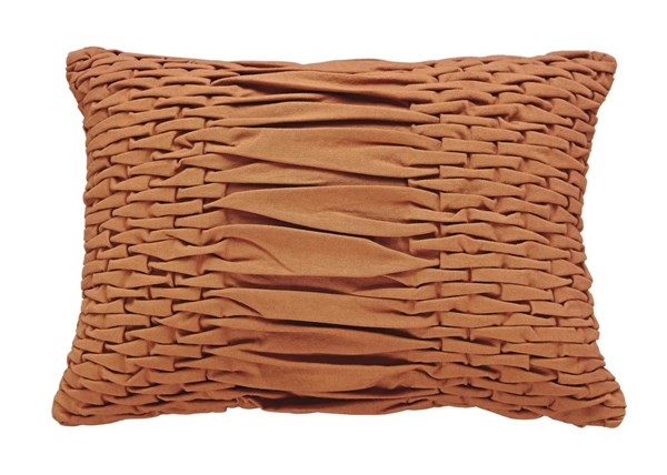 Nellie Traditional Coral Rectangle Pillow A1000503P