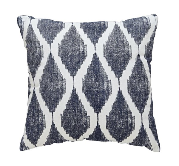 4 Bruce Contemporary Ink Fabric Square Pillows A1000511