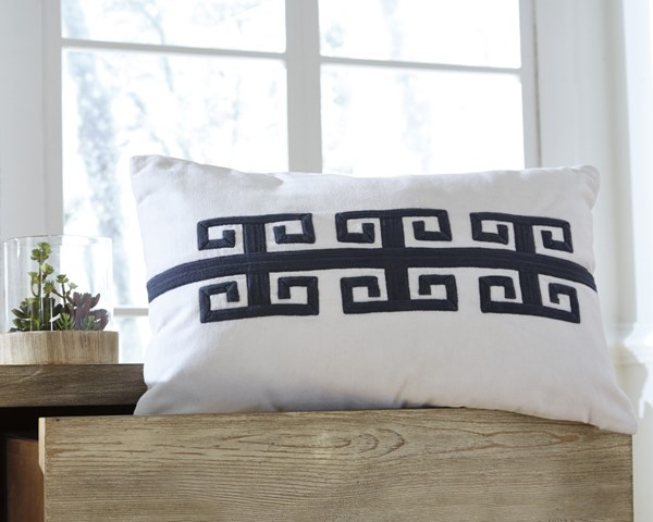 Amadeo Transitional Navy Fabric Pillows AMADEO-VAR1