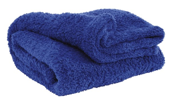 Brodie Youth Blue Polyester Rectangle Throw A1000623T