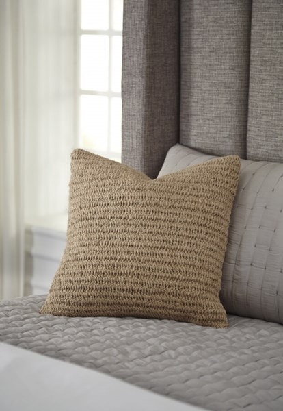 Tryton Transitional Natural Fabric Pillow Covers A1000642-VAR